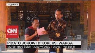Video Pidato Presiden Jokowi Dikoreksi Warga download MP3, 3GP, MP4, WEBM, AVI, FLV Juli 2018