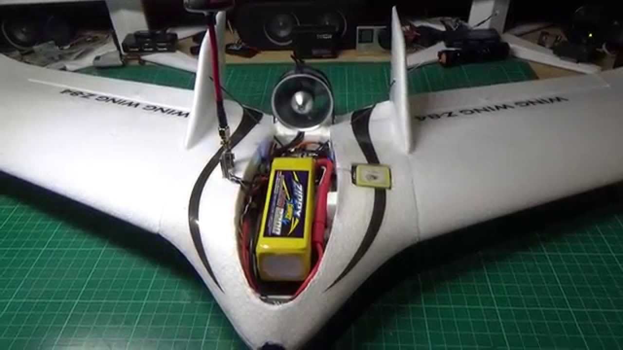Wing Wing Z 84 With Edf How Fast Will It Go Youtube