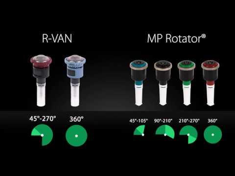 Rain Bird R-VAN: A Complete Line Of Rotary Nozzles