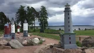 Морской парк. Kotka. Финляндия.