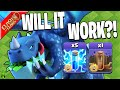 WILL ZAP ELECTRO DRAGONS WORK?! - Clash of Clans