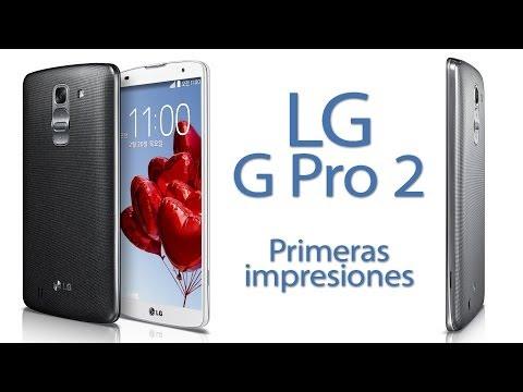 LG G Pro 2 - Primeras impresiones en MWC 2014
