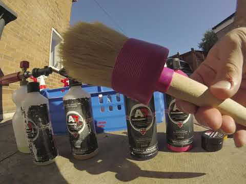 How to polish out scratches, clean and detail your mountain bike mtb #autobritedirect