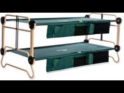 Disc-O-Bed Cam-O-Bunk Cots Review: Free up space in tent or home