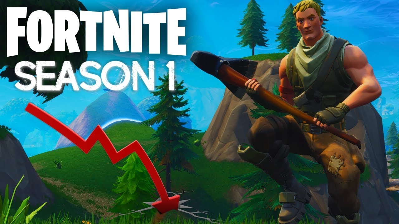 Season 1 Before Fortnite Was Famous Youtube Fortnite has completed nine seasons so far. season 1 before fortnite was famous