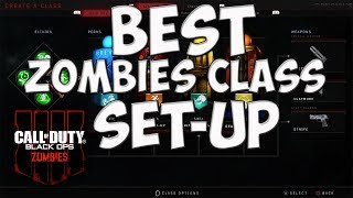 BESTE OVERALL-CLASS-SET-UP IN BLACK OPS 4 ZOMBIES! ELIXERS/PERKS/ETC! CO-OP/SOLO (CoD Bo4 Zombies)