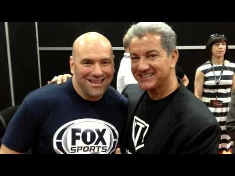 Bruce Buffer and Frank Trigg talk about their fight in an elevator