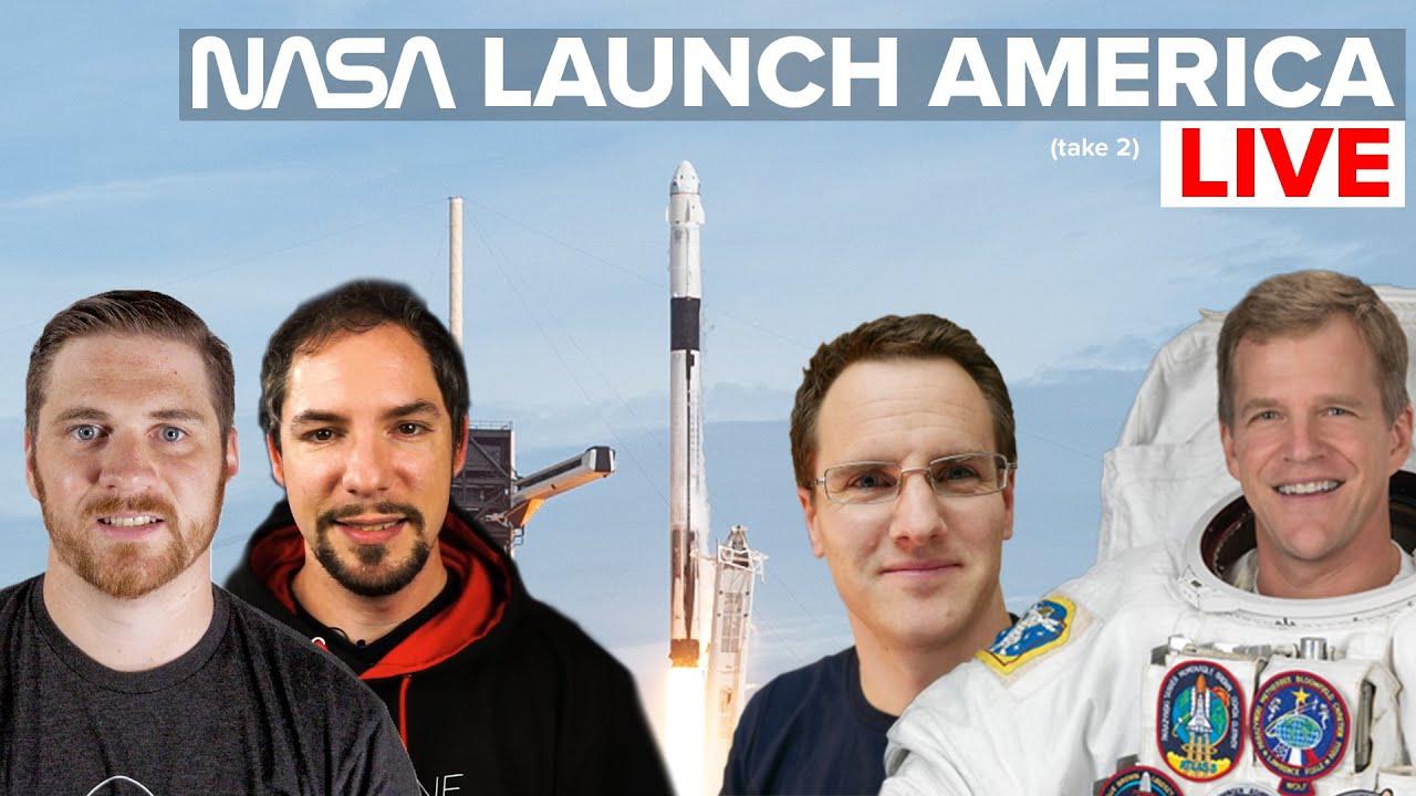 Launch America LIVE w/ Marcus House and Astronaut Scott Parazynski