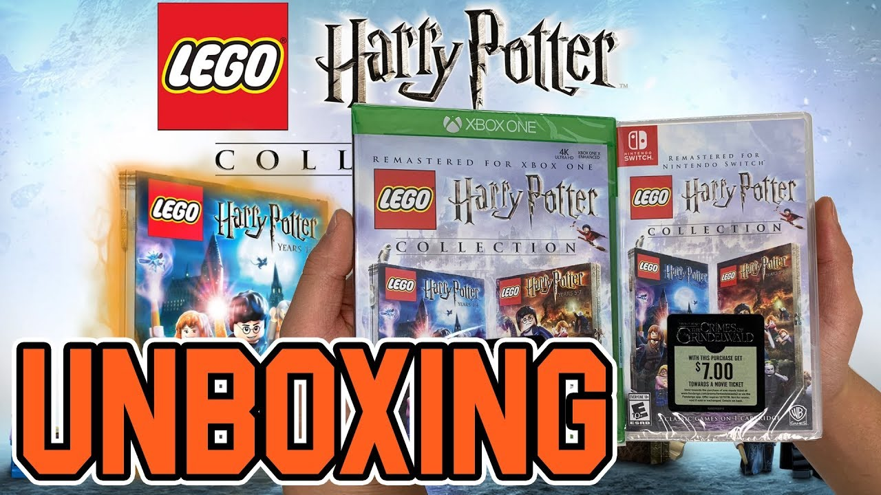 Lego Harry Potter Collection Xbox Oneswitch Unboxing Youtube