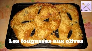 La Fougasse Aux Olives - French Recipe: Flat Bread From Provence