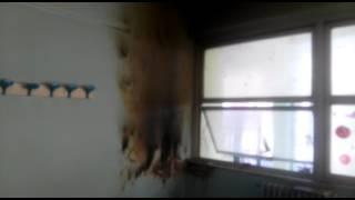 Incendio scuola Pacuvio:ecco i danni
