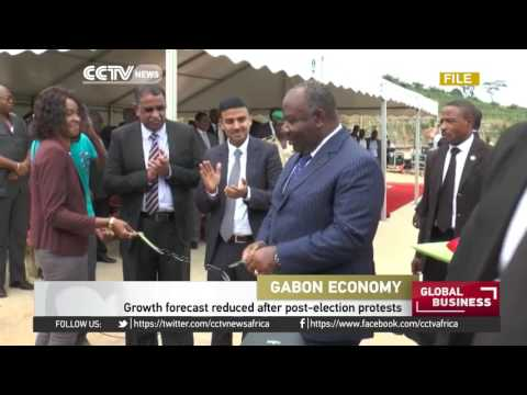 Gabon's growth forecast reduced after post-election protests