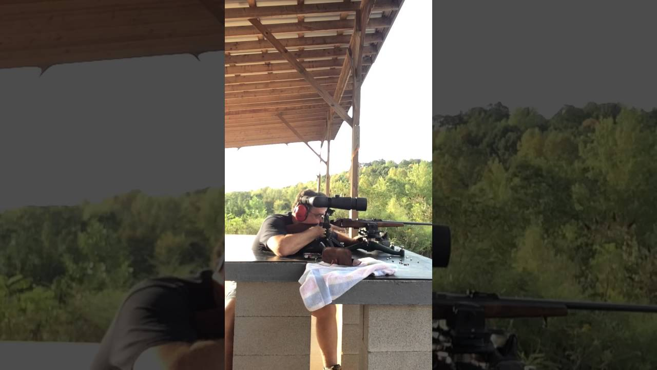 Benchrest Shooting Technique: My Benchrest Technique When Shooting An Open Sighted Rifle