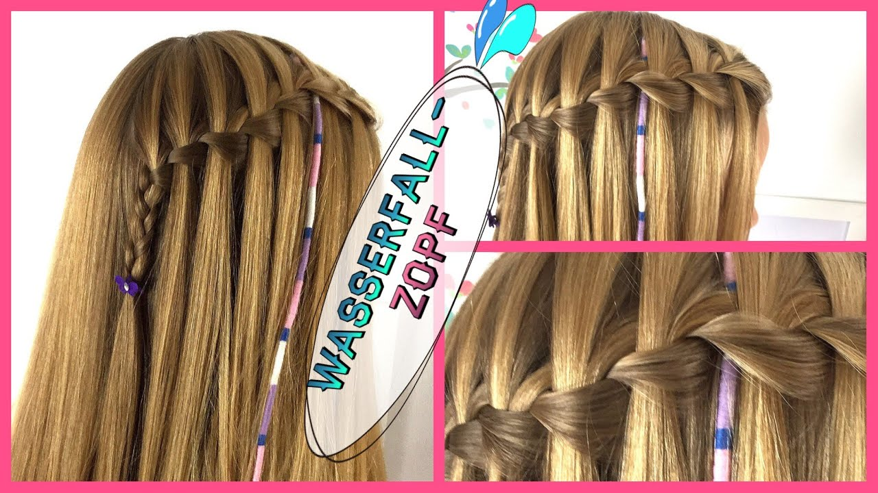 Frisuren konfirmation wasserfall