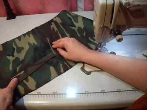 Сшить карман с листочкой на куртке без подклады (1)