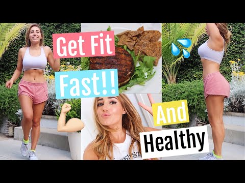 Get Fit For Vacation With Me | Lose weight fast + healthy 2018