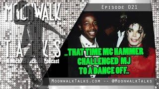 Moonwalk Talks That Time MC Hammer Challenged Michael Jackson to a Dance Off...mp3