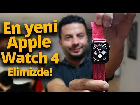 Apple Watch 4 kutusundan çıkıyor! - Düşenin dostu akıllı saat!
