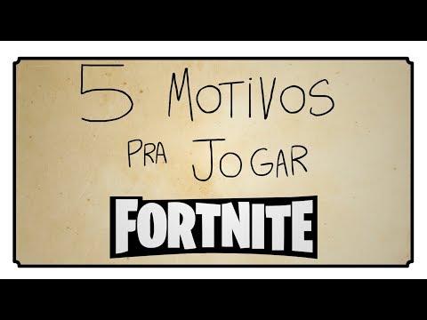 5 motivos pra jogar Fortnite