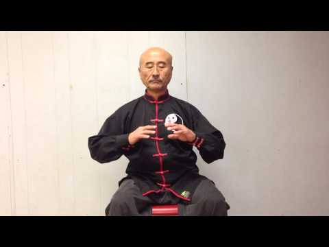 Master So Qigong Thrust movement