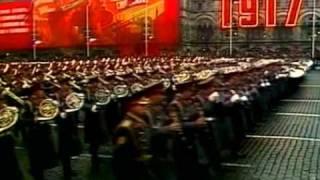 Военный парад и демонстрация.07.11.1975.