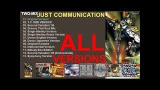 "(0:00) - 01. Original Version (4'20'') ""JUST COMMUNICATION"" from ○ ..."