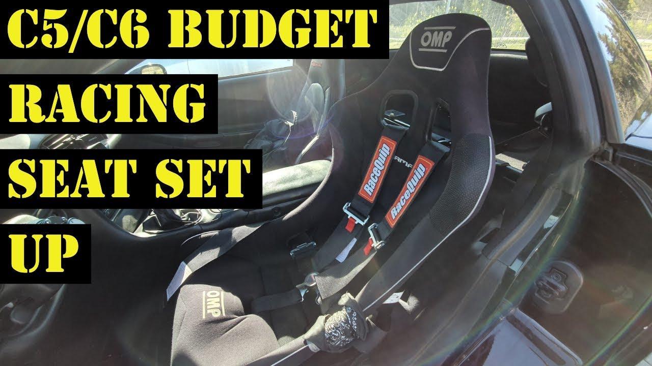 C5/C6 Corvette Budget Racing Seat Set Up
