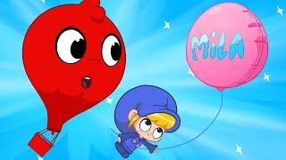 Morphle, meu balão de ar quente - Vídeos divertidos para crianças.