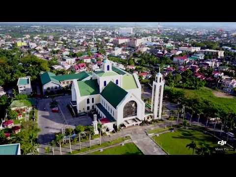 Aerial view Naga City, Philippines