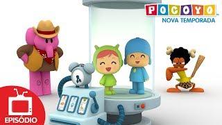 Pocoyo - De volta ao passado (S04E16) NOVOS EPISÓDIOS