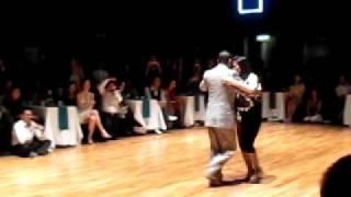 Daniel Nacucchio y Cristina Sosa, Nov 2010 Grand Milonga Performance 1 @ Hong Kong Tango Festival