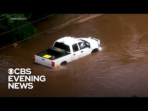 Dangerous Oklahoma flooding prompts emergency rescues