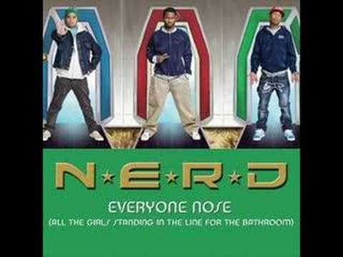 Free Download N.e.r.d. Kanye West, Lupe Fiasco & Pusha-t - Everyone Nose Mp3 dan Mp4