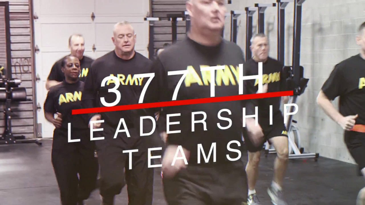 377th TSC leaders recently took on the Army Combat Fitness Test. In October, 63 battalions across the Army began training on the ACFT as the force prepares to roll out the first change to the test in 40 years.