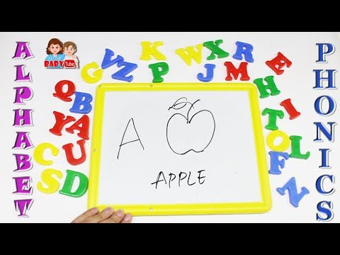 Learn Alphabets for Kids | A to Z Phonetics | Letters for Toddlers