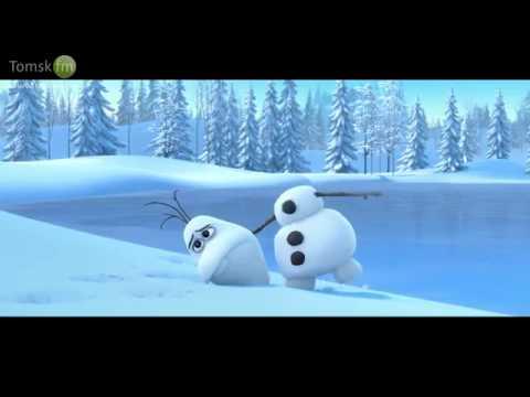 Снеговик,олень и...