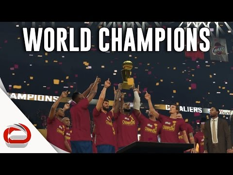 CLEVELAND CAVALIERS - NBA CHAMPIONS - NBA 2K17