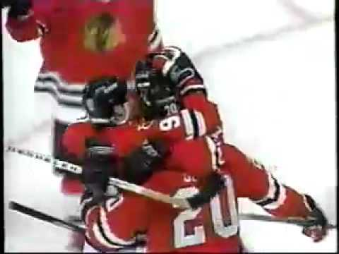Chicago Blackhawks 1994-95 Season Video Part 4