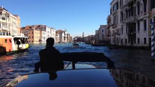 Exploring Venice on a private Riva
