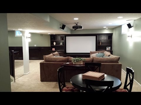 How To Refinish Your Basement Basement Remodeling Finishing Mesmerizing Basement Remodeling Columbus Ohio