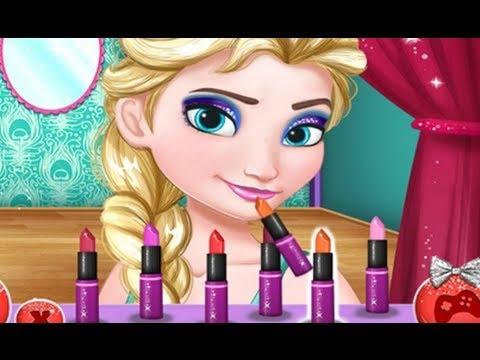 Disney Frozen Elsa From Night Dress Up Game For Children