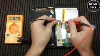 Como carregar o tablet sem conector carregador.... Jeitinho