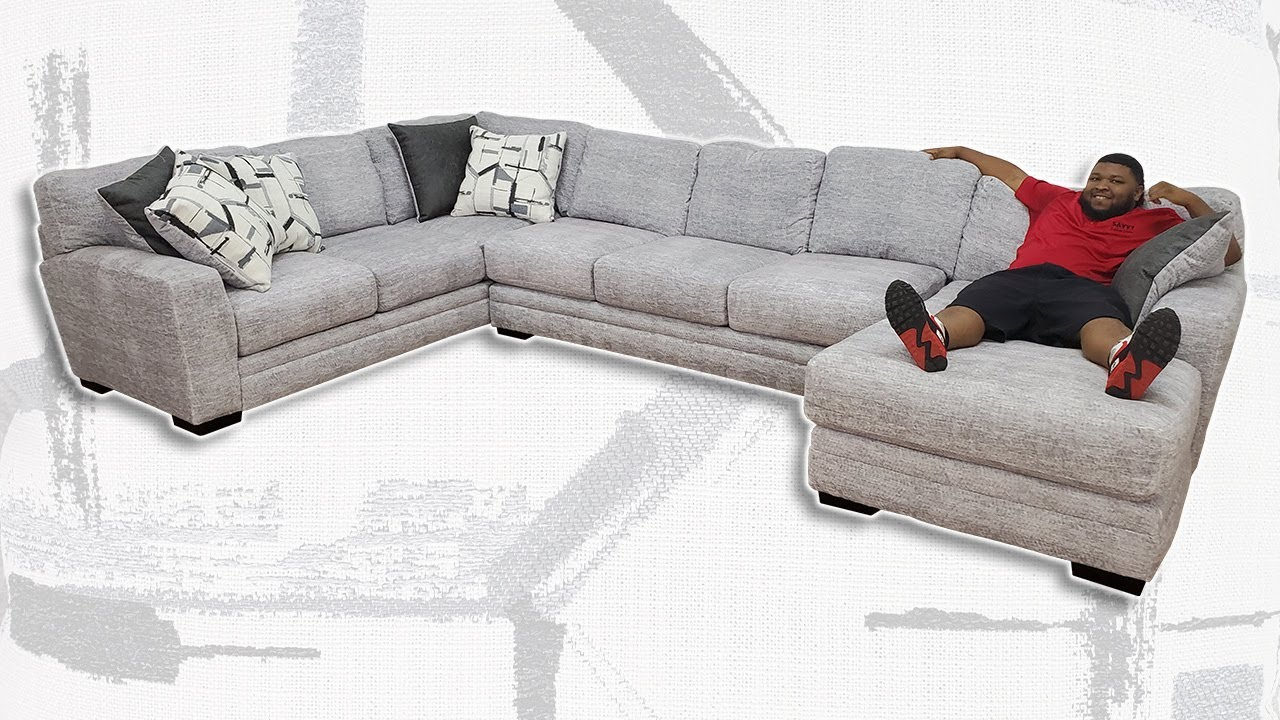 albany zaftig dove xl sectional sofa