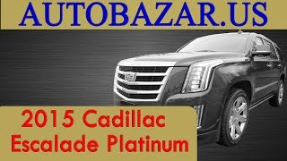 2015 Cadillac Escalade Platinum видео. Тест драйв Кадиллак Эскалэйд 2015. Авто из США