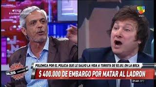 """Javier Milei contra un abogado abolicionista: """"Sos un asesino"""", Intratables- 01/02/18"""