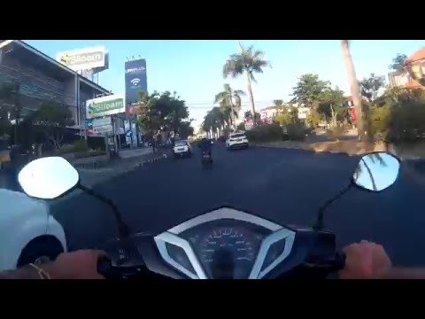 NEED FOR SPEED - BALI EDITION / My Way To Udayana University - HD