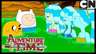 Adventure Time | Beyond the Grotto of the Sea Nymph | Cartoon Network YouTube Videos