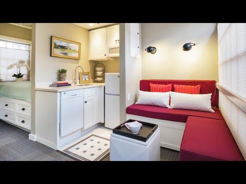 Tiny Apartment #5   BEST Interior Decorating   Small Spaces IDI
