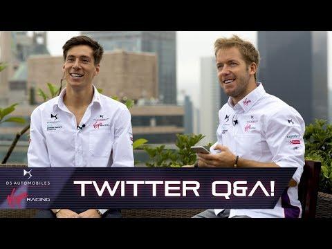Your Twitter Questions For Alex Lynn + Sam Bird!