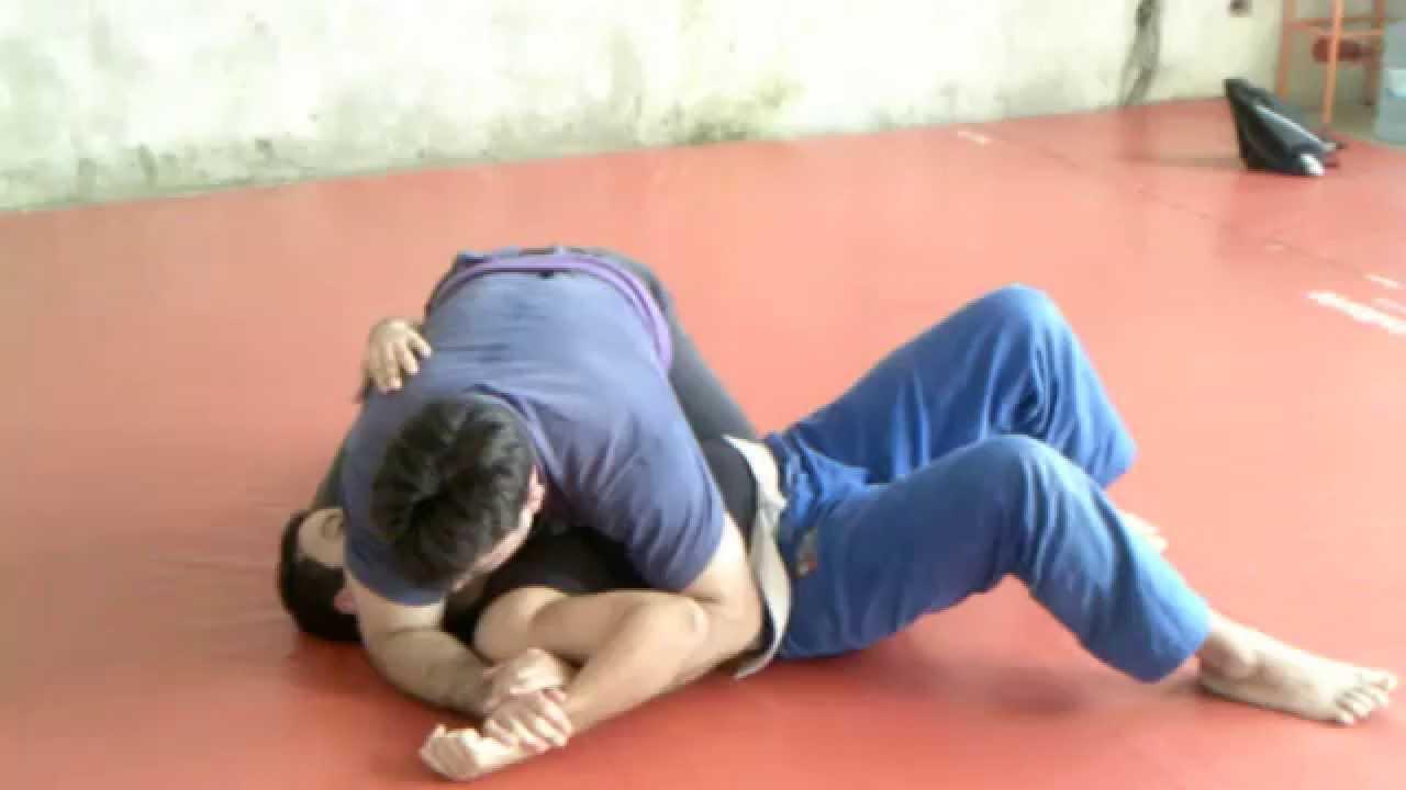 Llave mano de vaca jiu jitsu brasileño